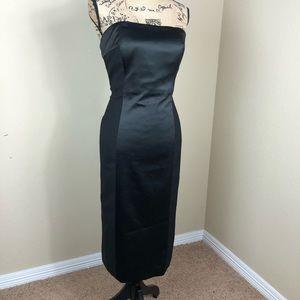 Vince Camuto Black Strapless Cocktail Dress 12